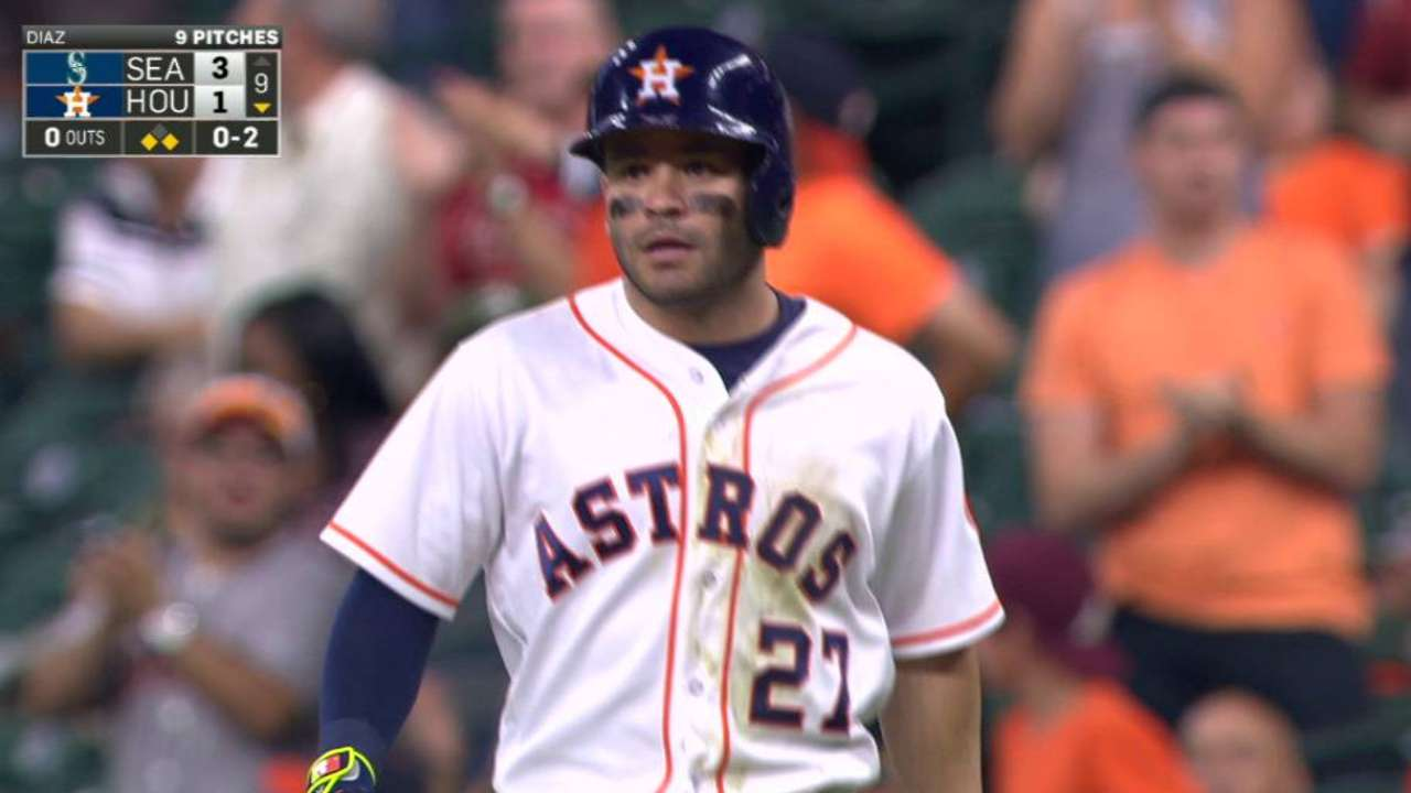 Altuve's RBI fielder's choice