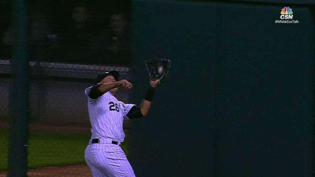 Garcia's running catch