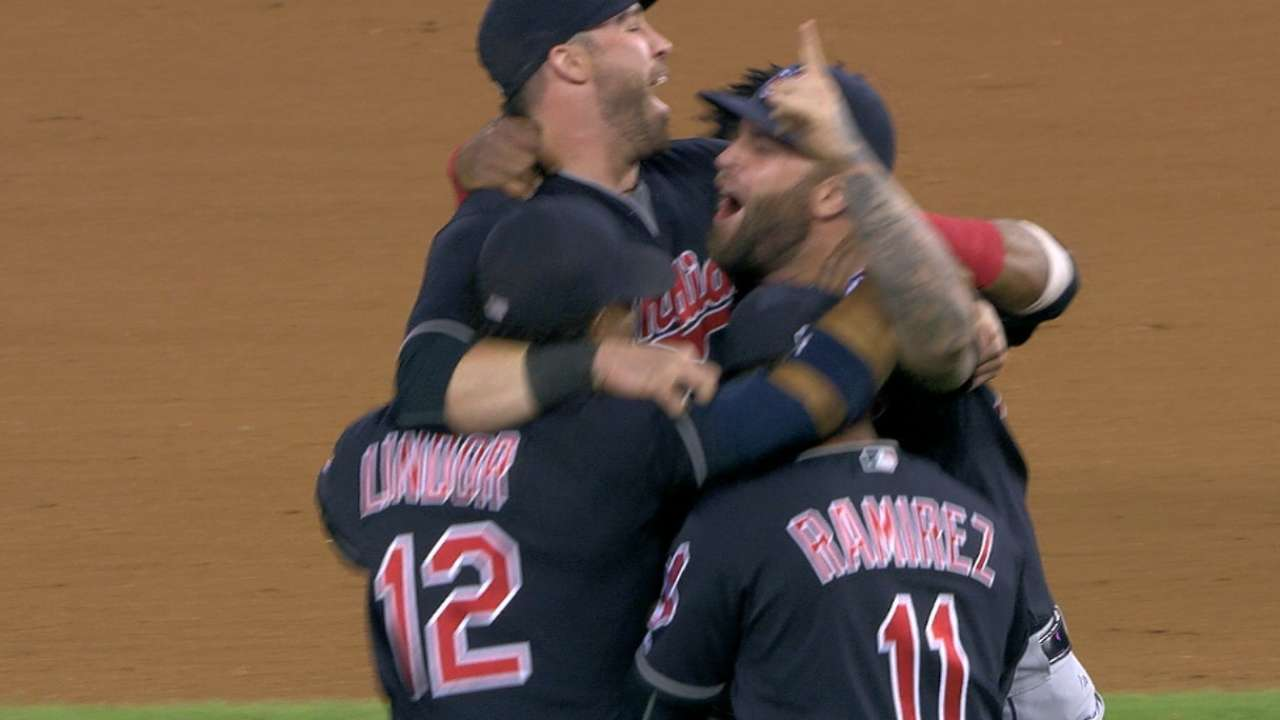 Must C: Tribe clinches division