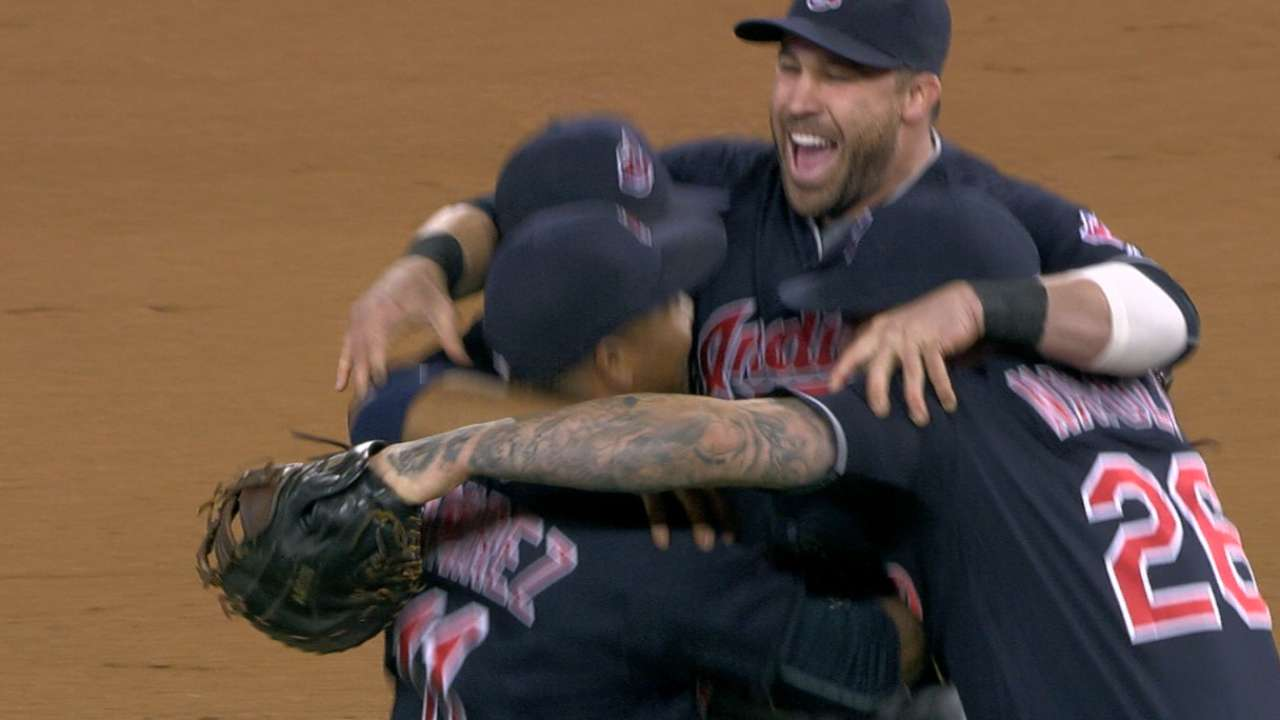 Division title just the start for Indians