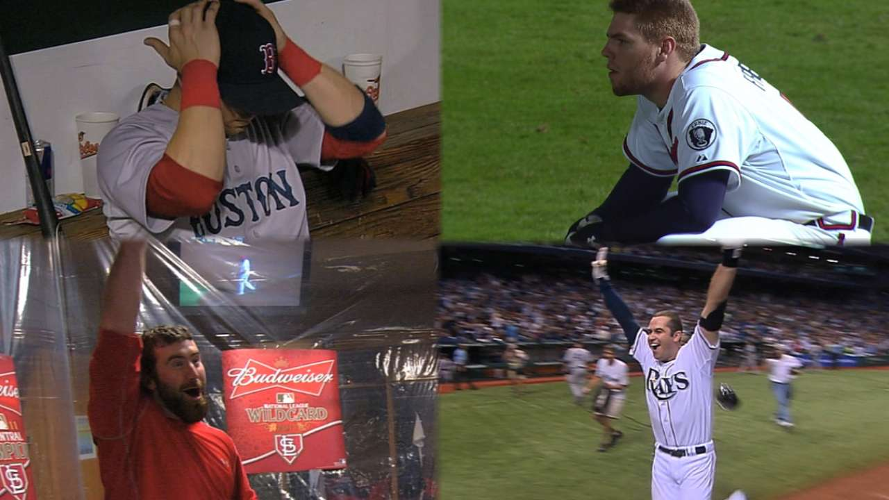 Recalling one of most dramatic days in MLB history