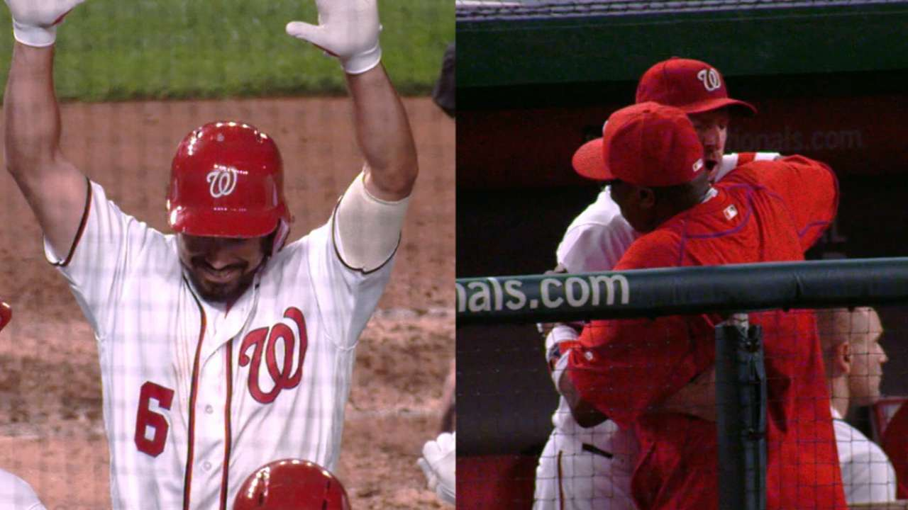 Rendon's HR, Max's 10 K's rally Nats