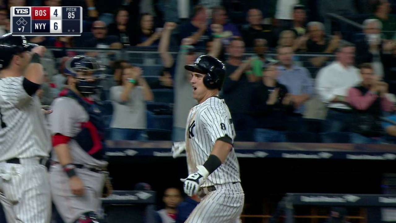 Yanks bash 3 HRs, delay Sox's clinch party