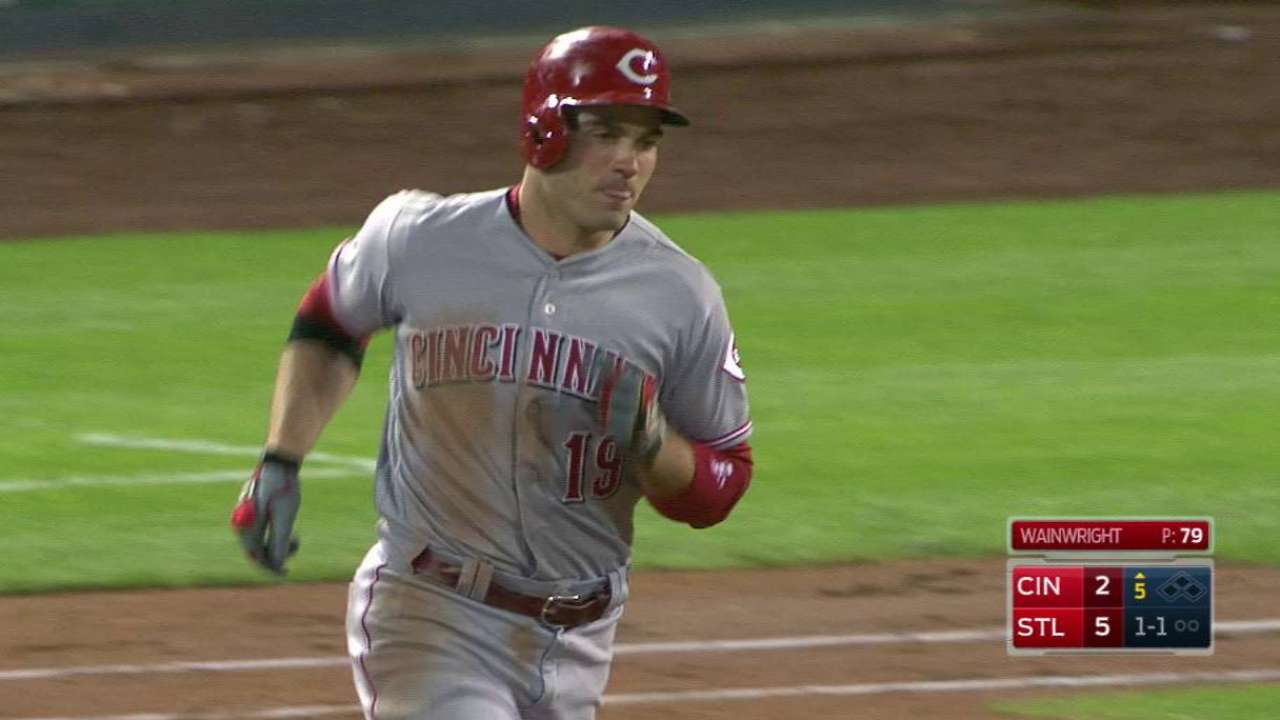 Votto hammers a solo homer