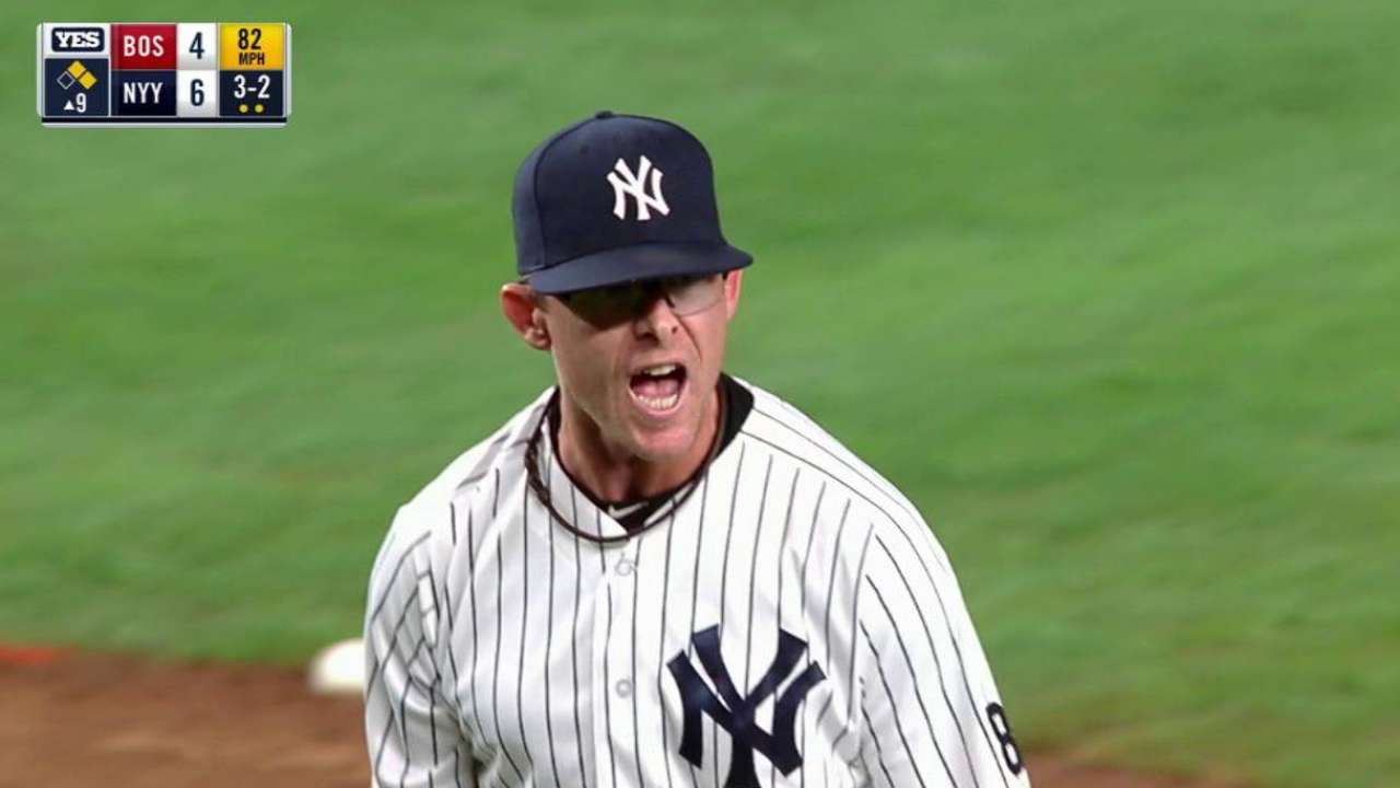 Clippard notches save