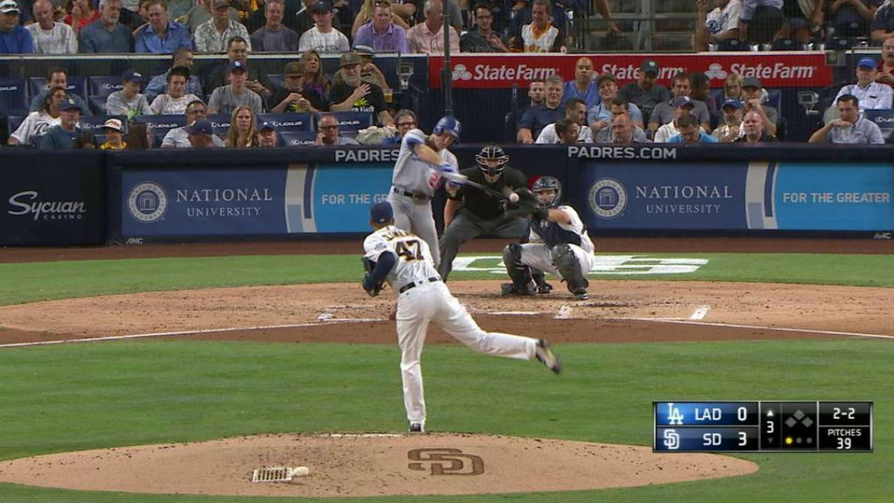 Utley's solo homer to right