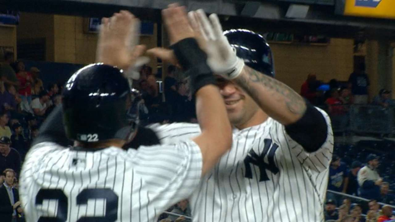 Radio Call: Sanchez's 20th homer