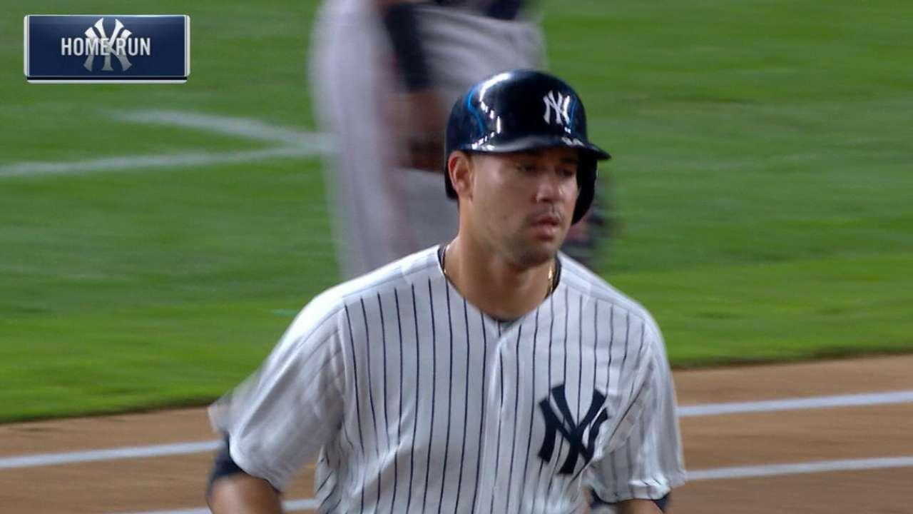 Gary Sánchez lidera camada de talento joven en Yankees en 2017