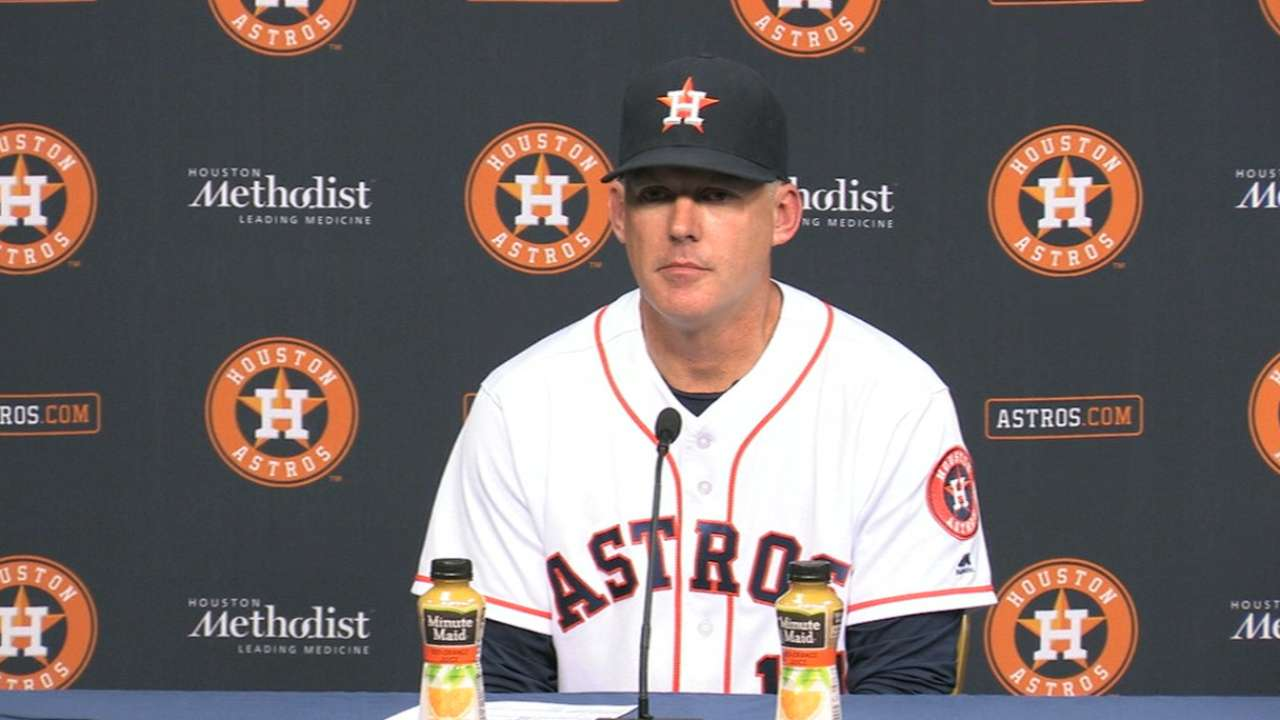 Hinch on Fister, pitching