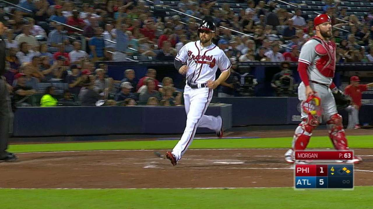 Inciarte solidifying role as leadoff hitter