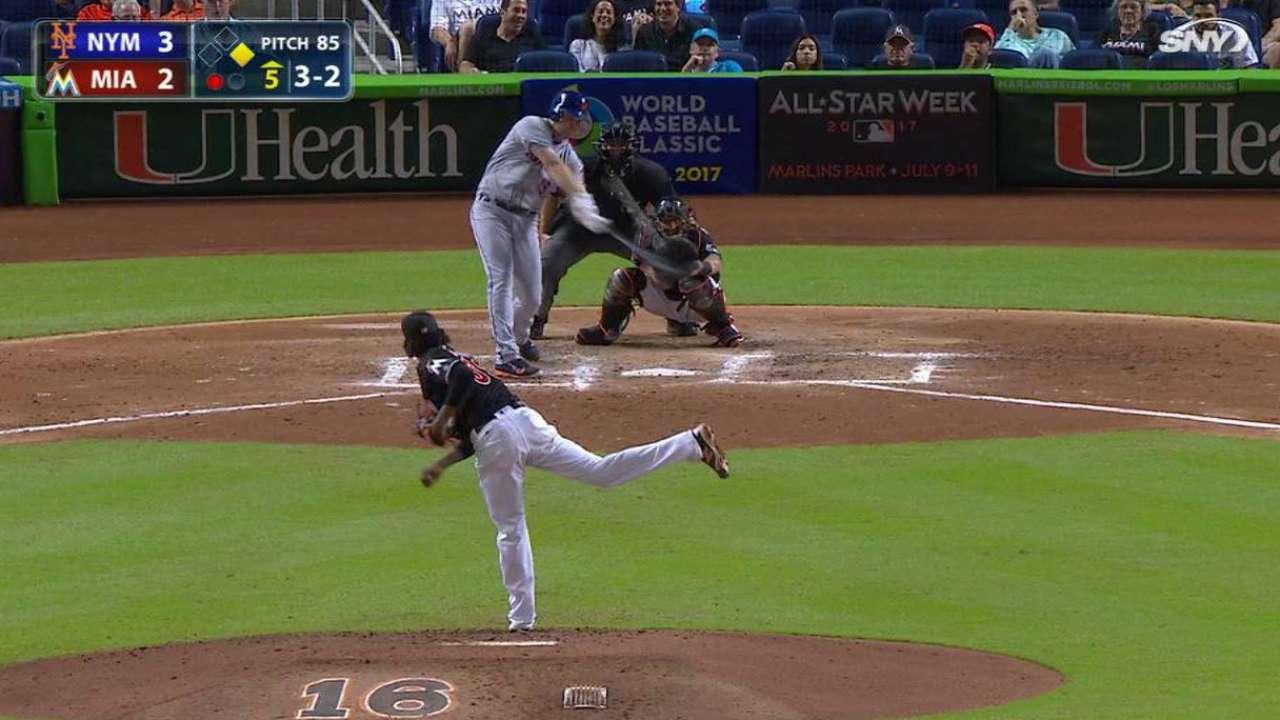 Bruce's two-run home run