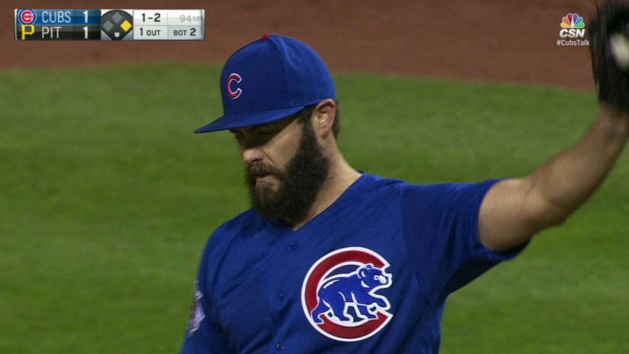 Arrieta off, but NLDS foe 'will be in trouble'