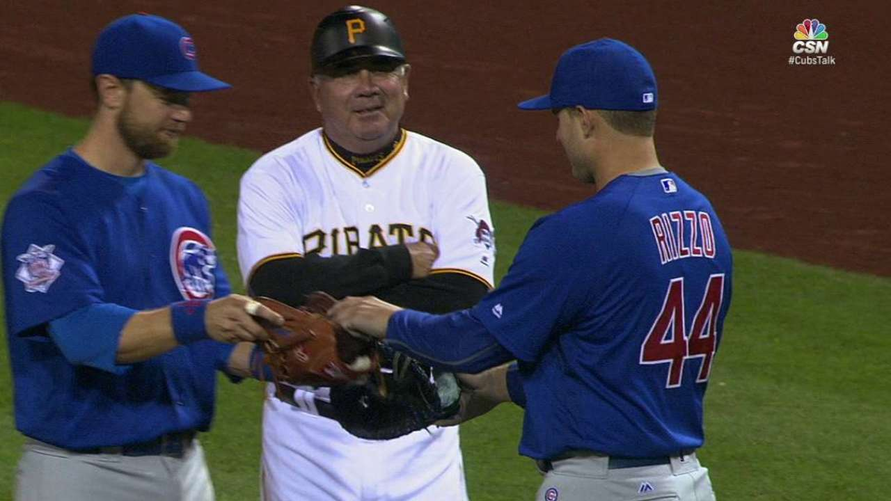 Rizzo, Zobrist swap positions