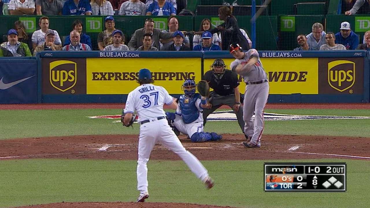 Trumbo's 46th homer