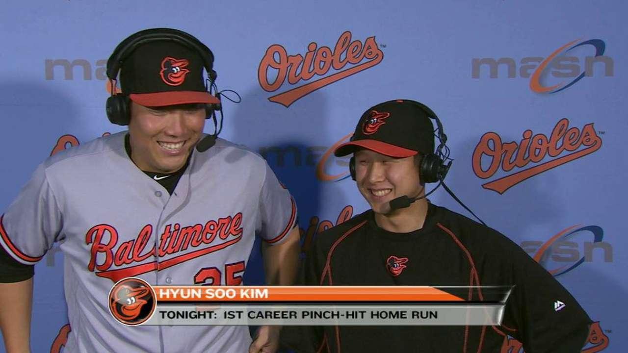 Kim on go-ahead home run
