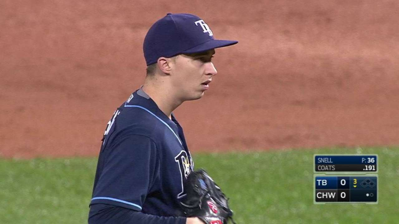 Snell, Rays consider rookie year a success