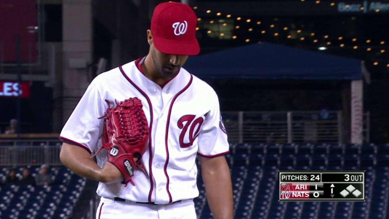 Gonzalez strikes out Drury