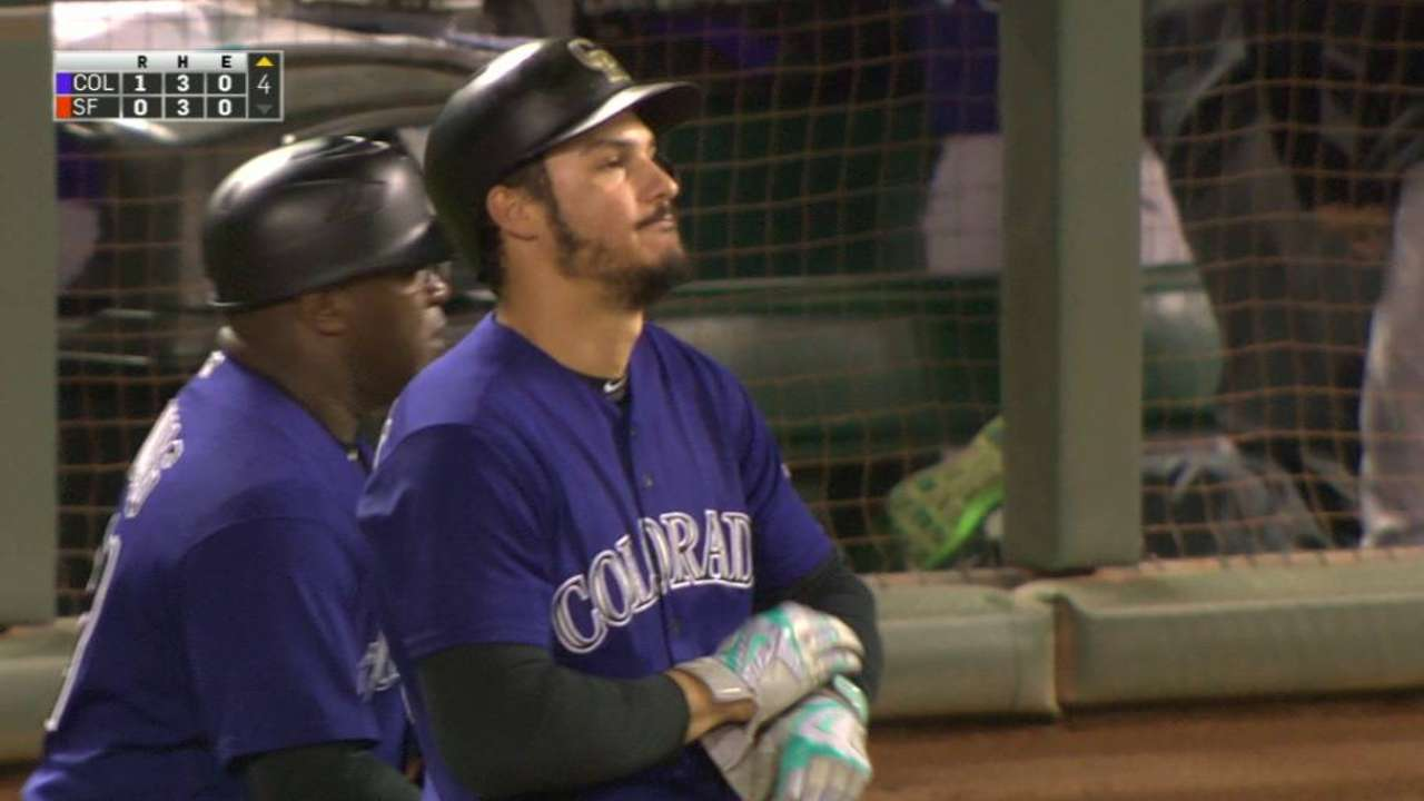 Arenado's 130th RBI
