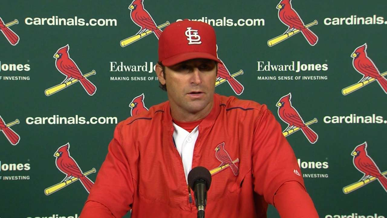 Matheny on loss to Reds