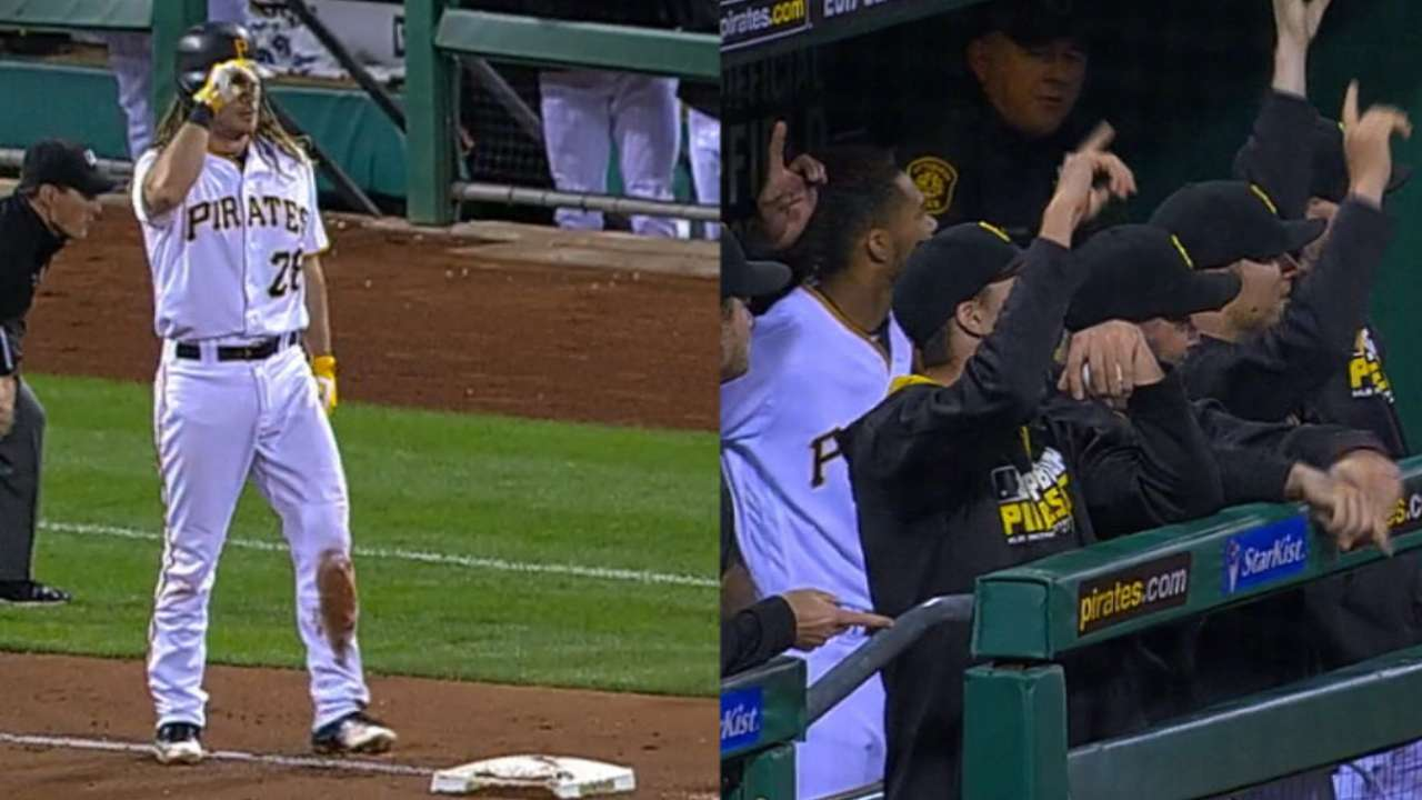 Must C: Jaso hits for the cycle