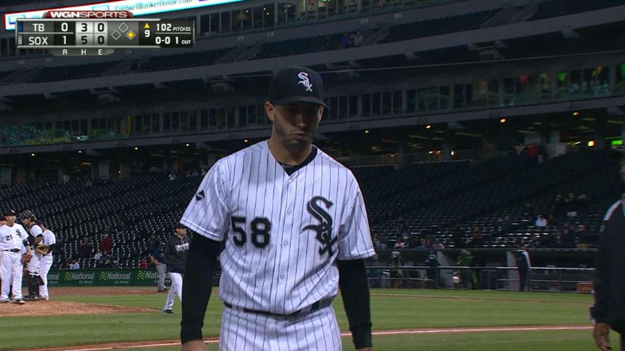 Gonzalez twirls gem, White Sox down Rays