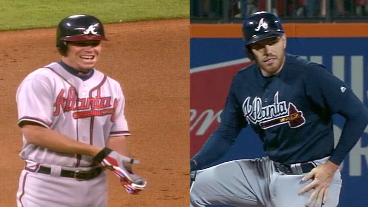 Freeman gets 80 extra-base hits