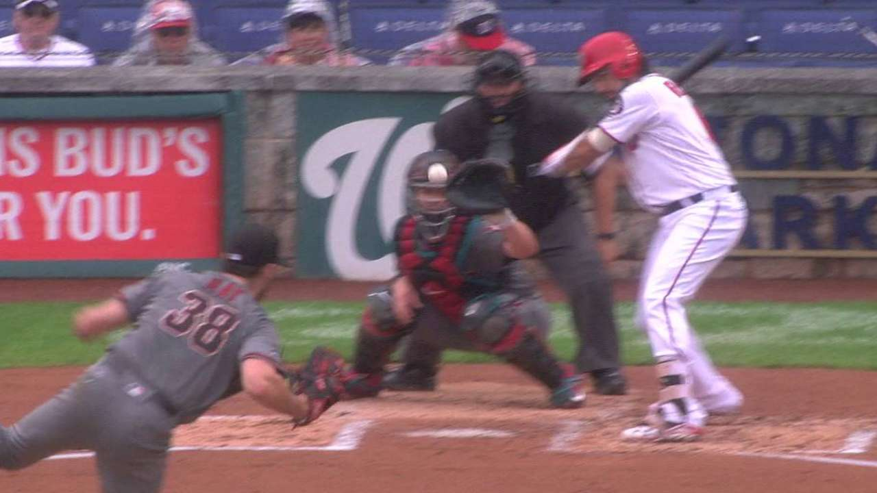Ray strikes out Rendon