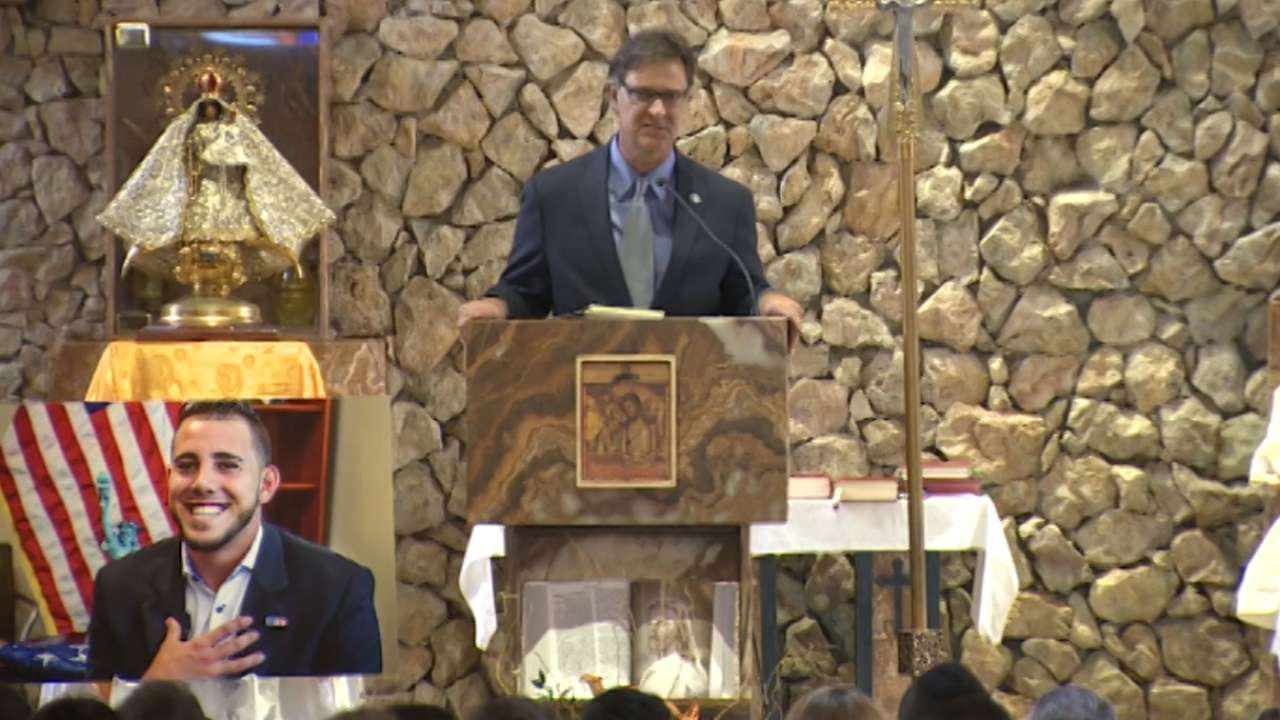 Memorial service for Fernandez