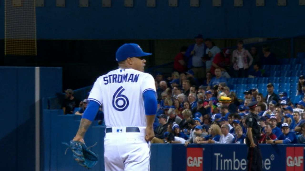 Stroman pitches into the 8th