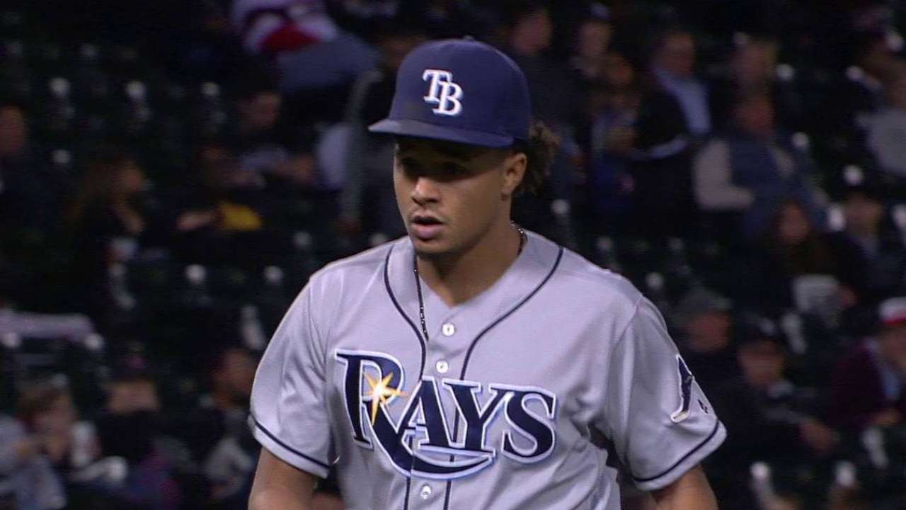 Archer Avoids 20th Loss, Helps Rays Top White Sox 5-3