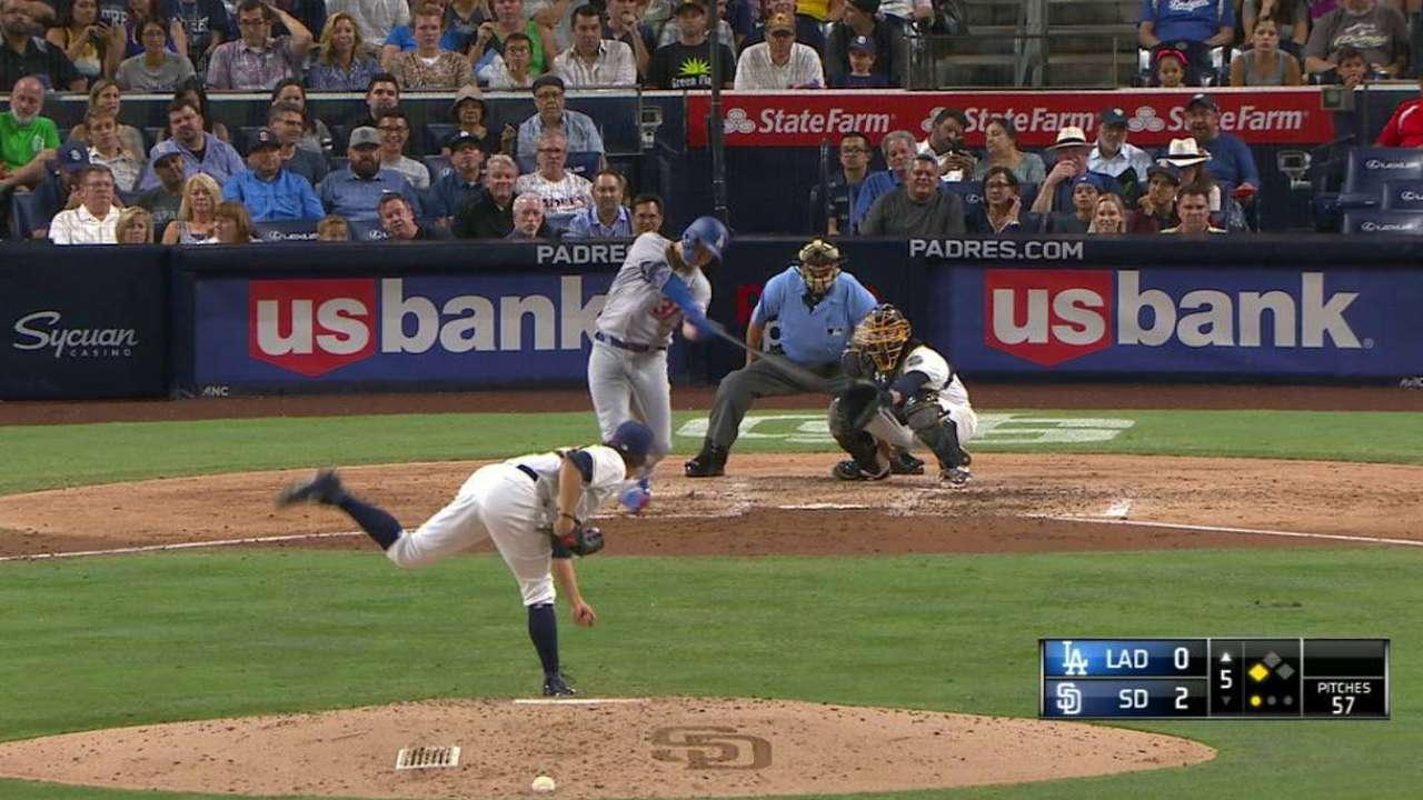 Pederson's RBI double