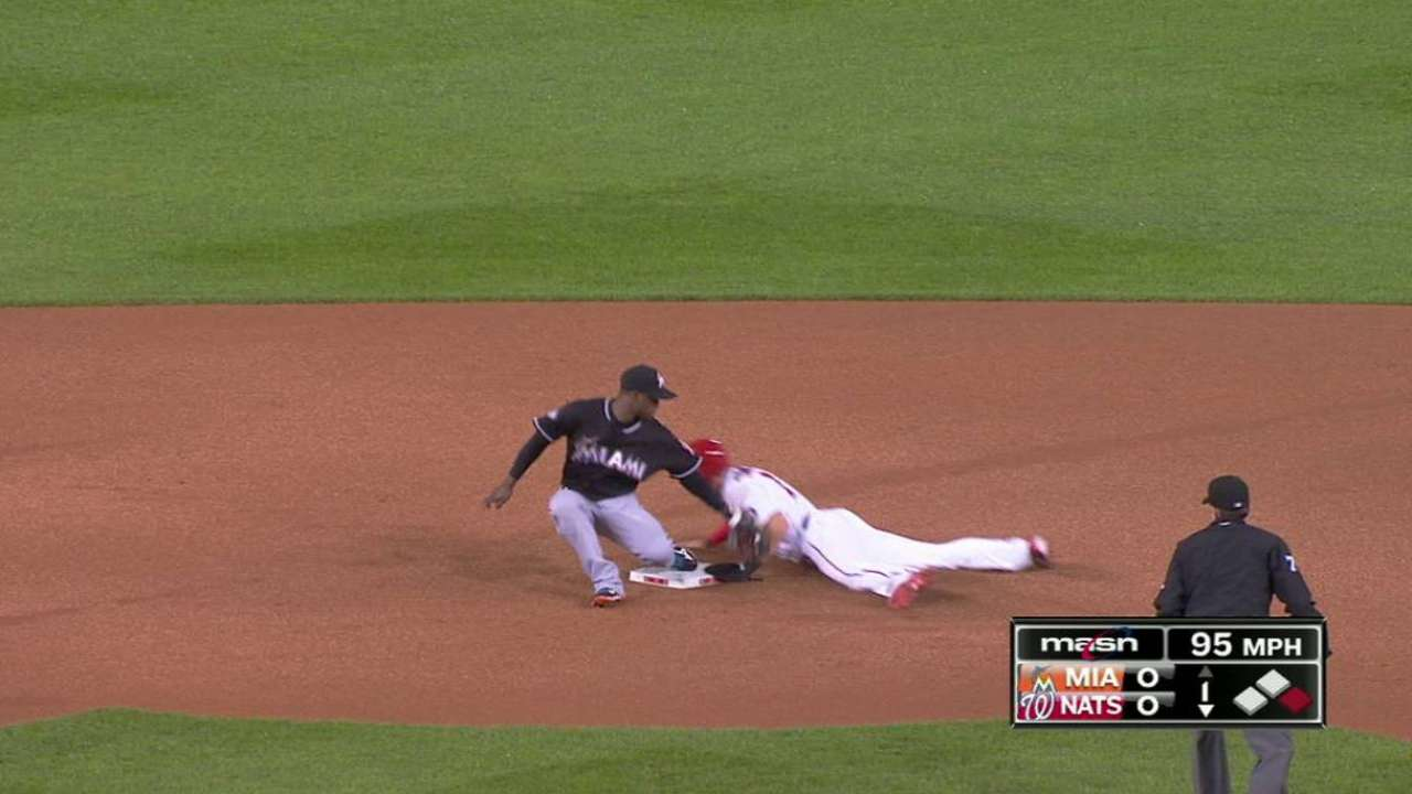 Turner's 30th stolen base