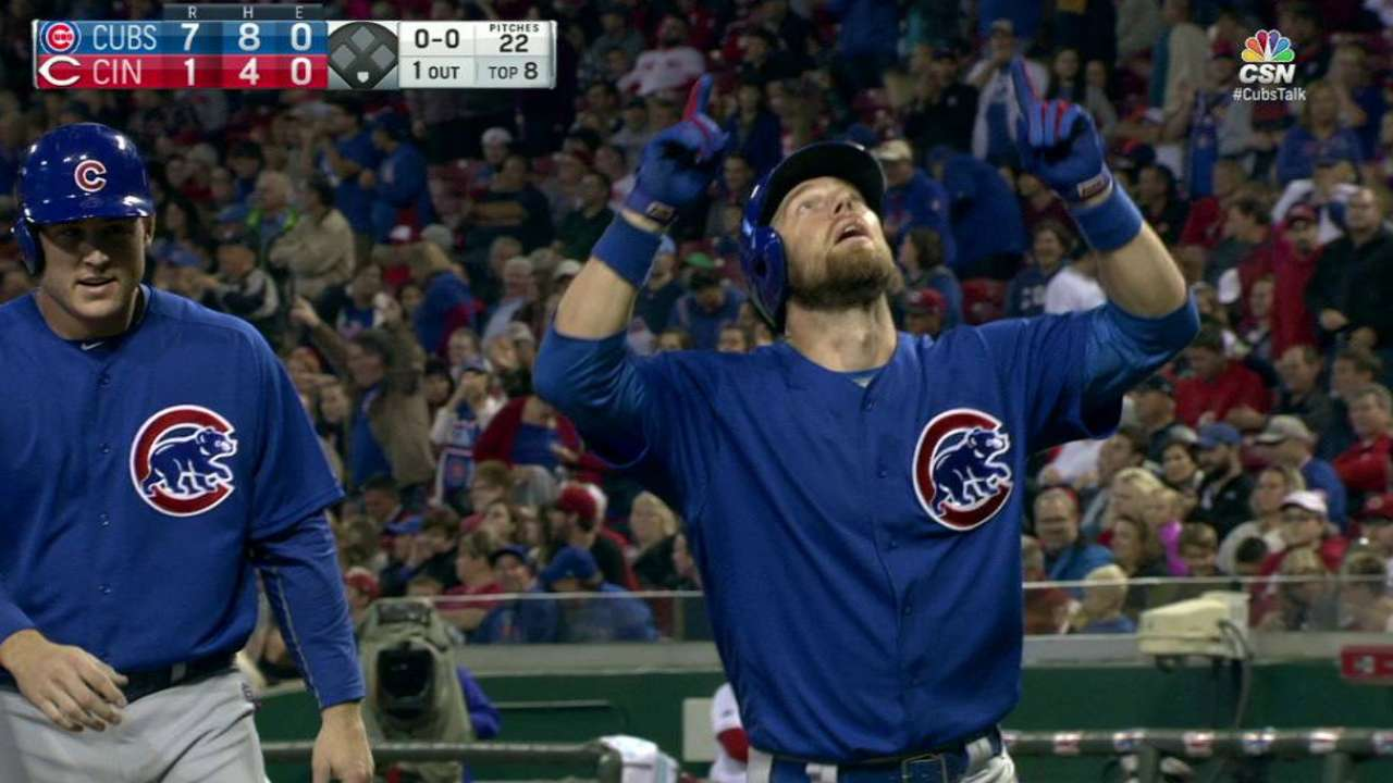 Zobrist's second home run