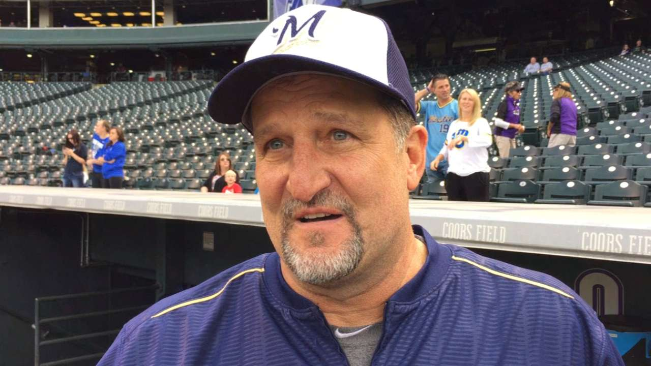 Brewers honor Sedar's 25 years with the club
