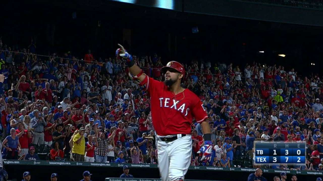 Odor crushes a solo homer