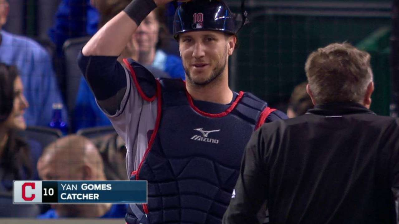 Gomes returns from DL