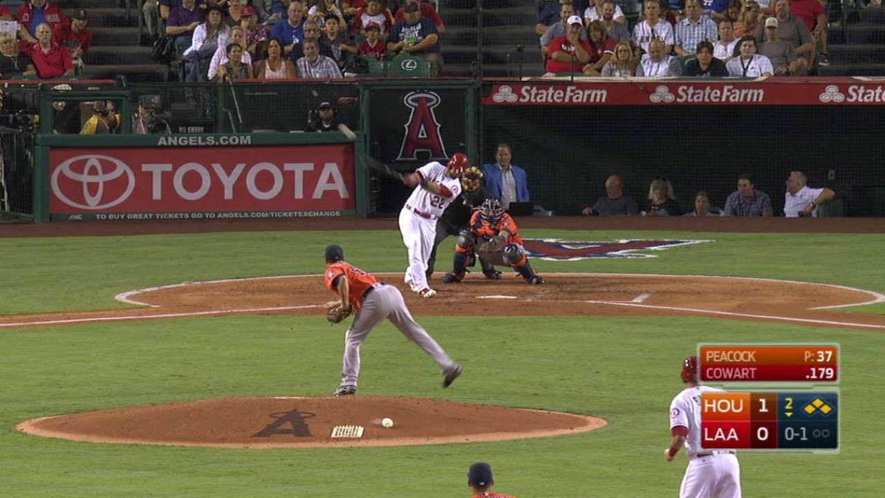 Cowart's bases-clearing double