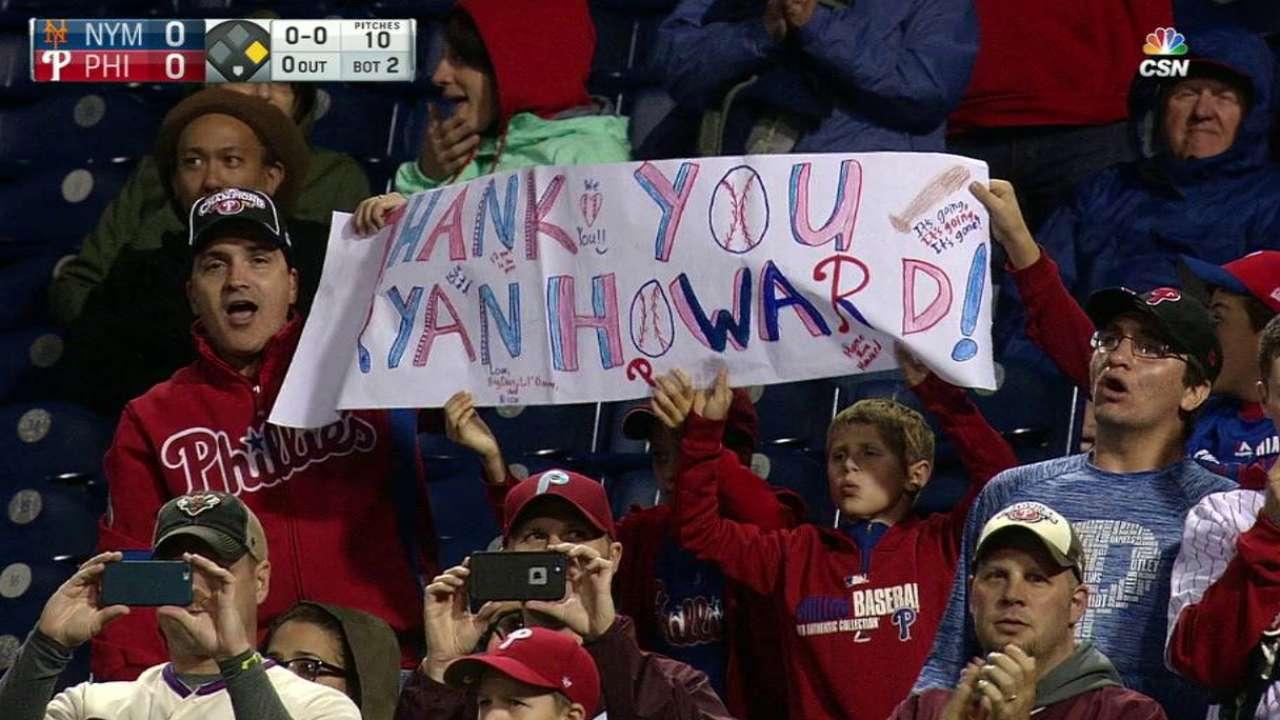Howard delivers after ovation