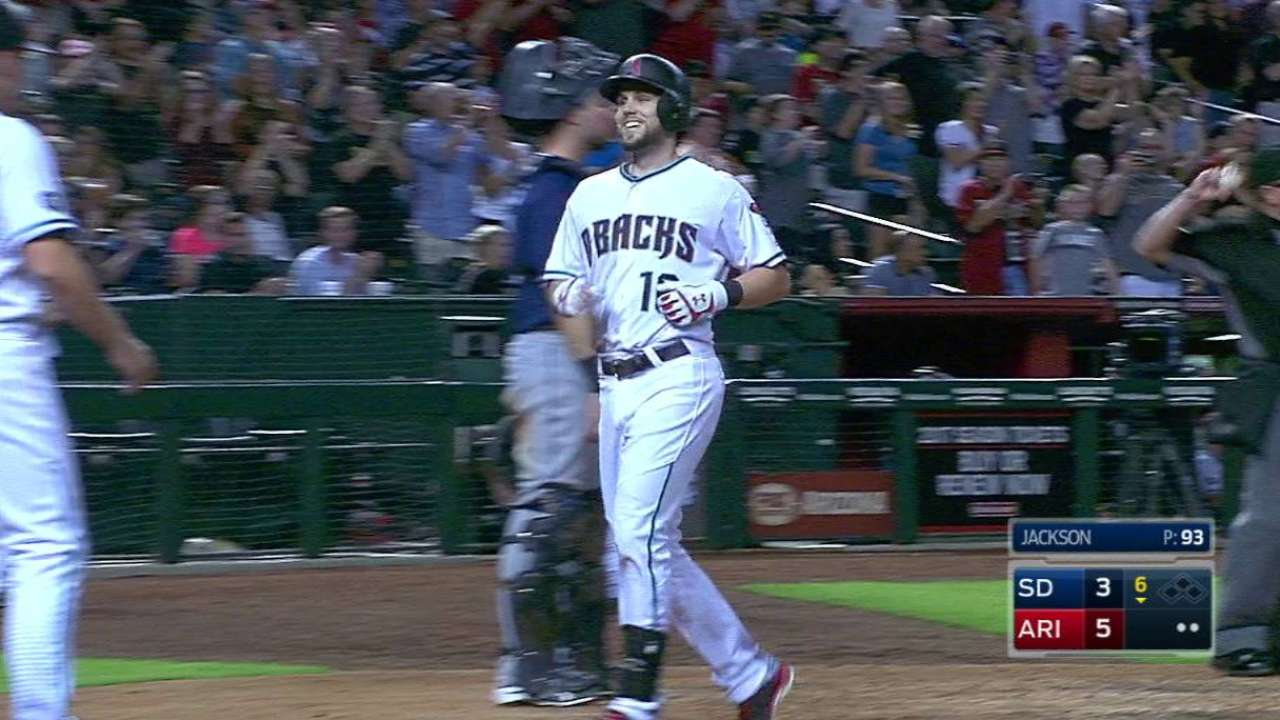 Owings' two-run homer in the 6th
