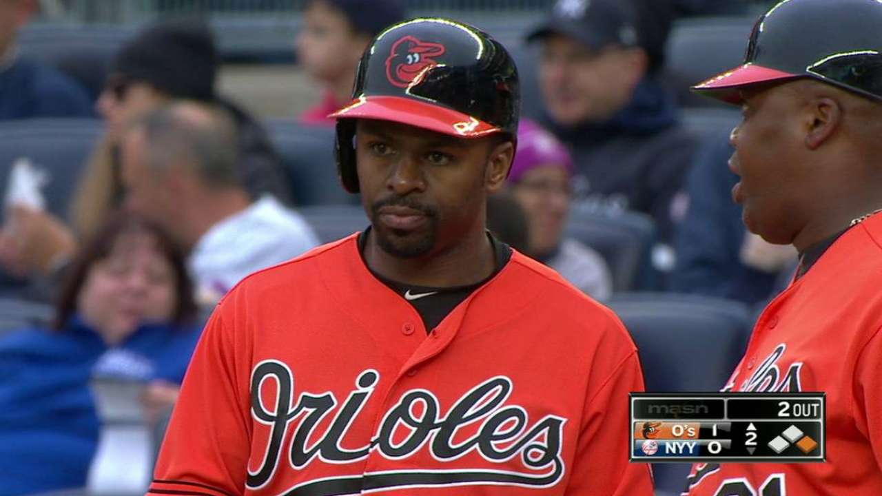 O's 'good atmosphere' welcoming to Bourn
