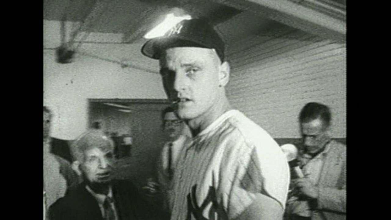 Yankees honor Maris on anniversary of 61 in '61