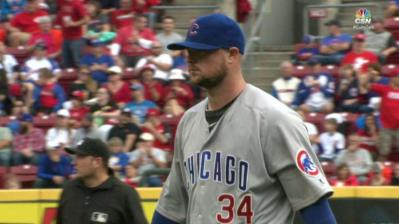 Lester strikes out Kivlehan