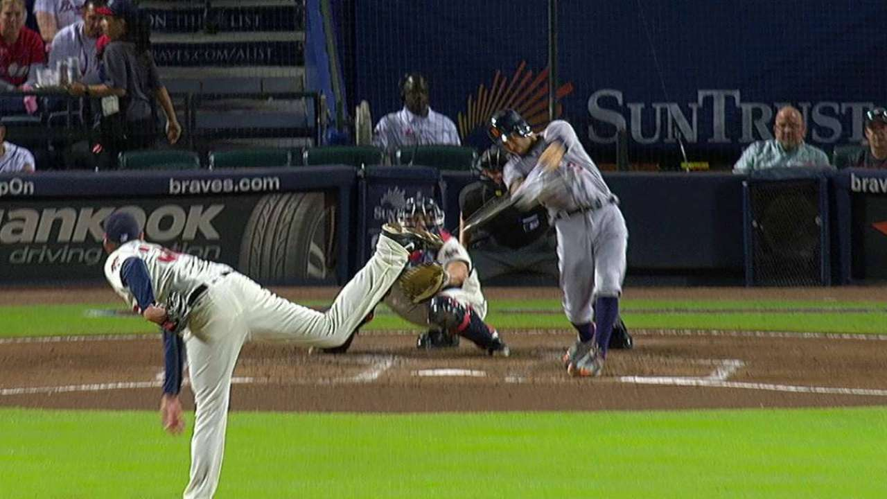 Kinsler's RBI double