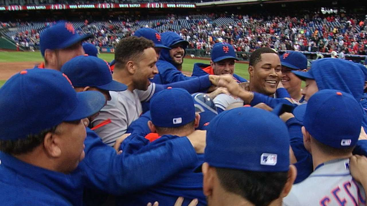 Mets clinch home field in Wild Card Game