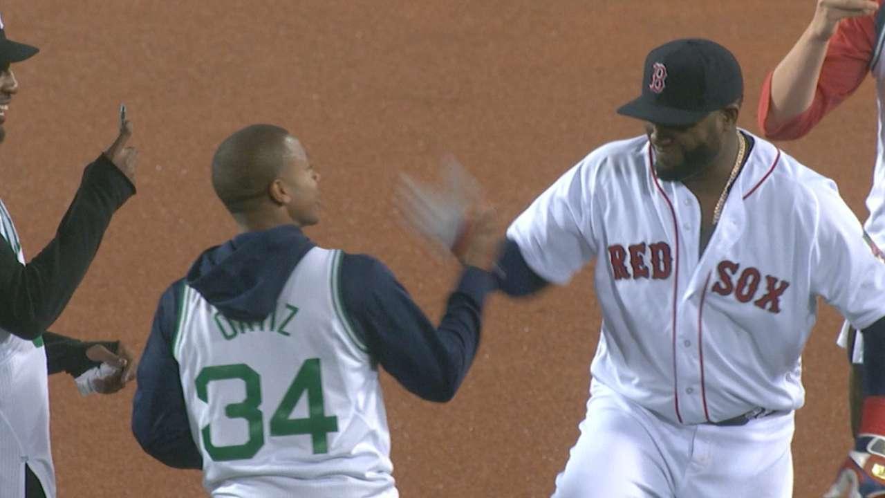Boston sports legends hail Ortiz