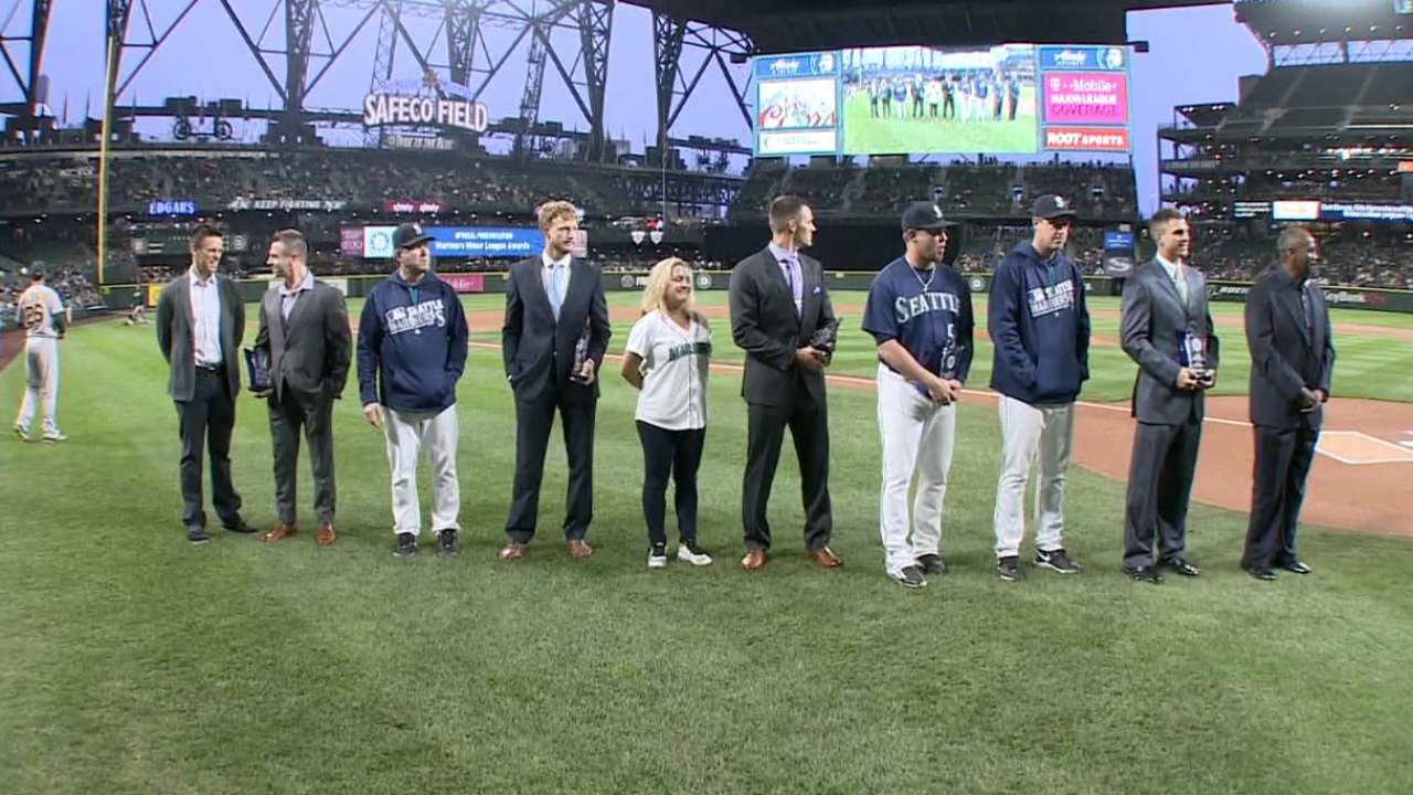 O'Neill sees Safeco as 'motivator' at ceremony