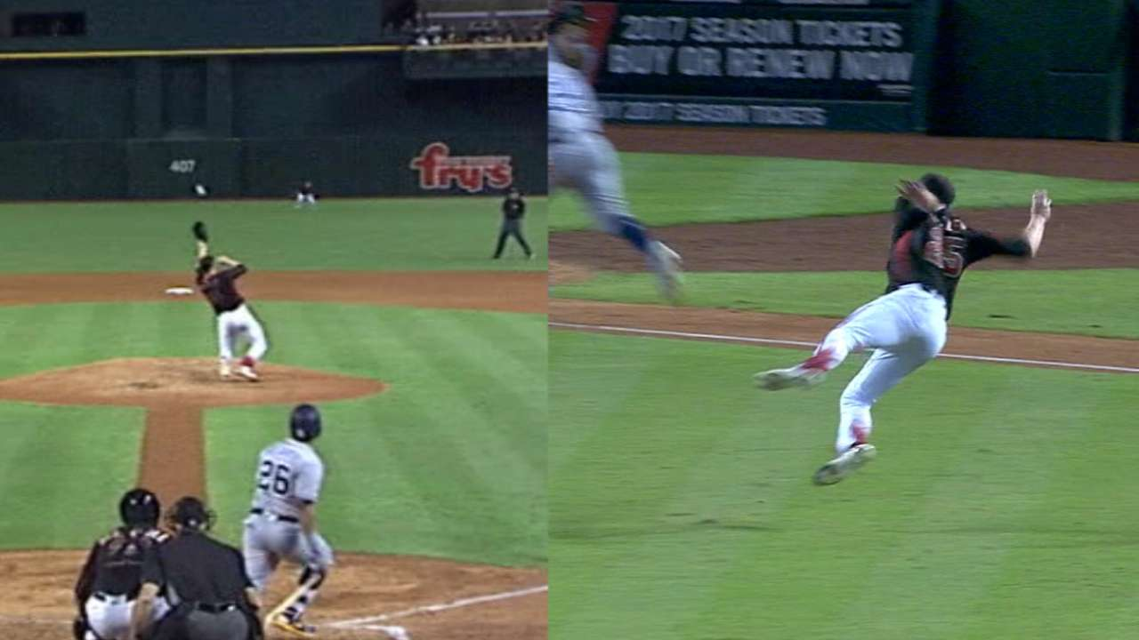Bradley shows athleticism with sensational play