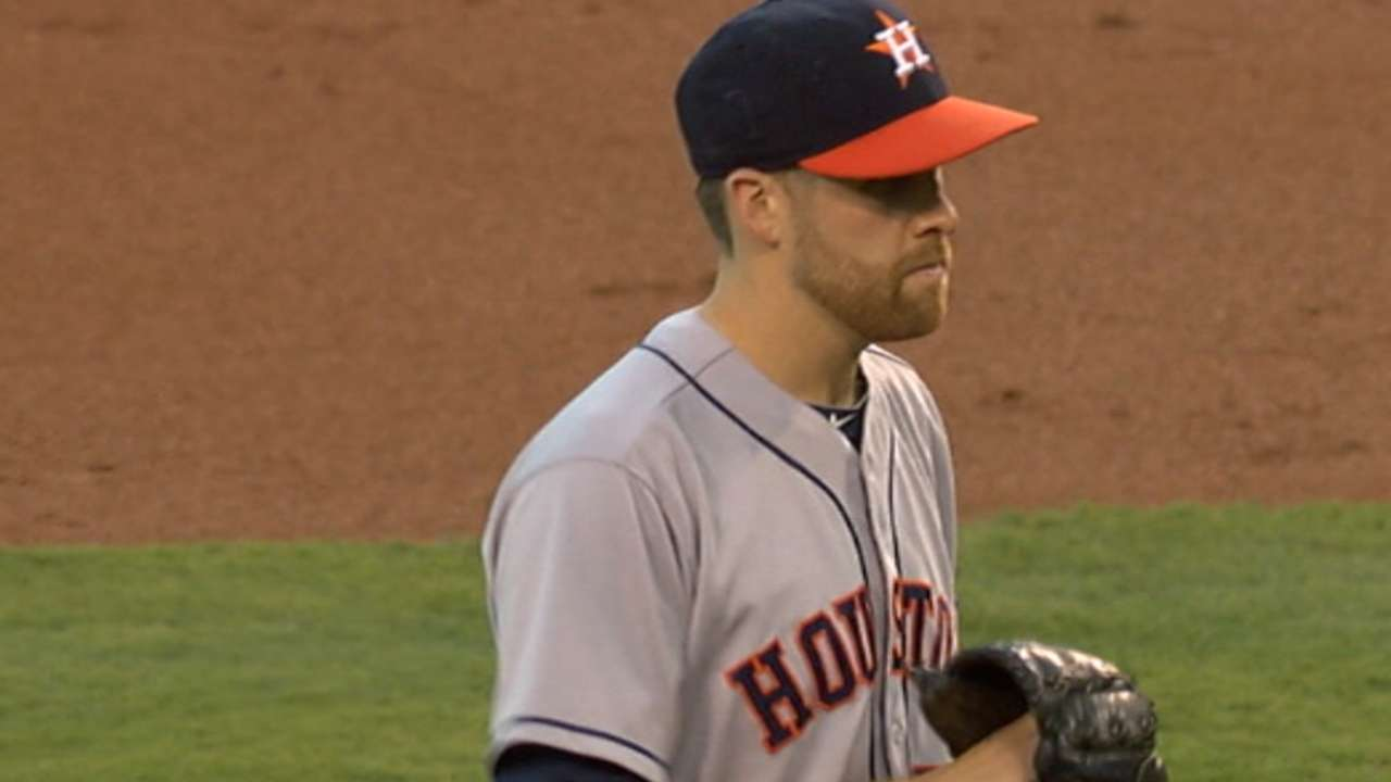 McHugh leads way as Astros shut out Angels