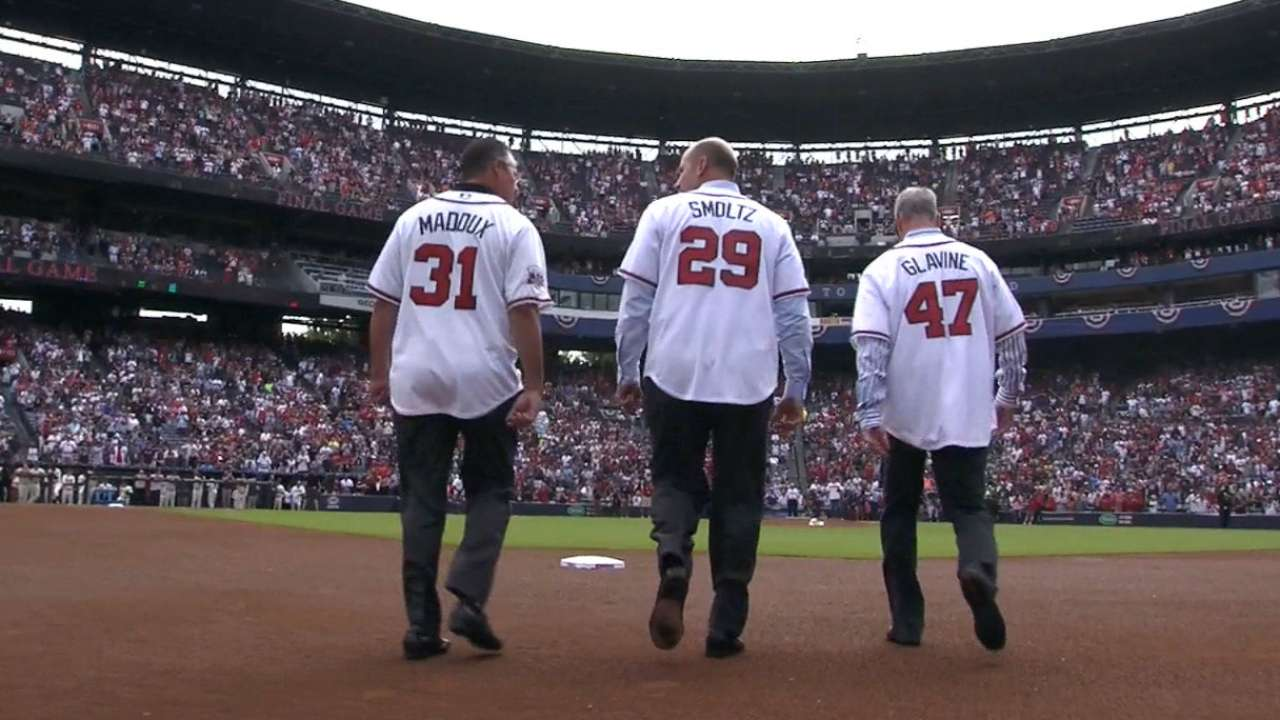 Braves' legends bid farewell to 'The Ted'