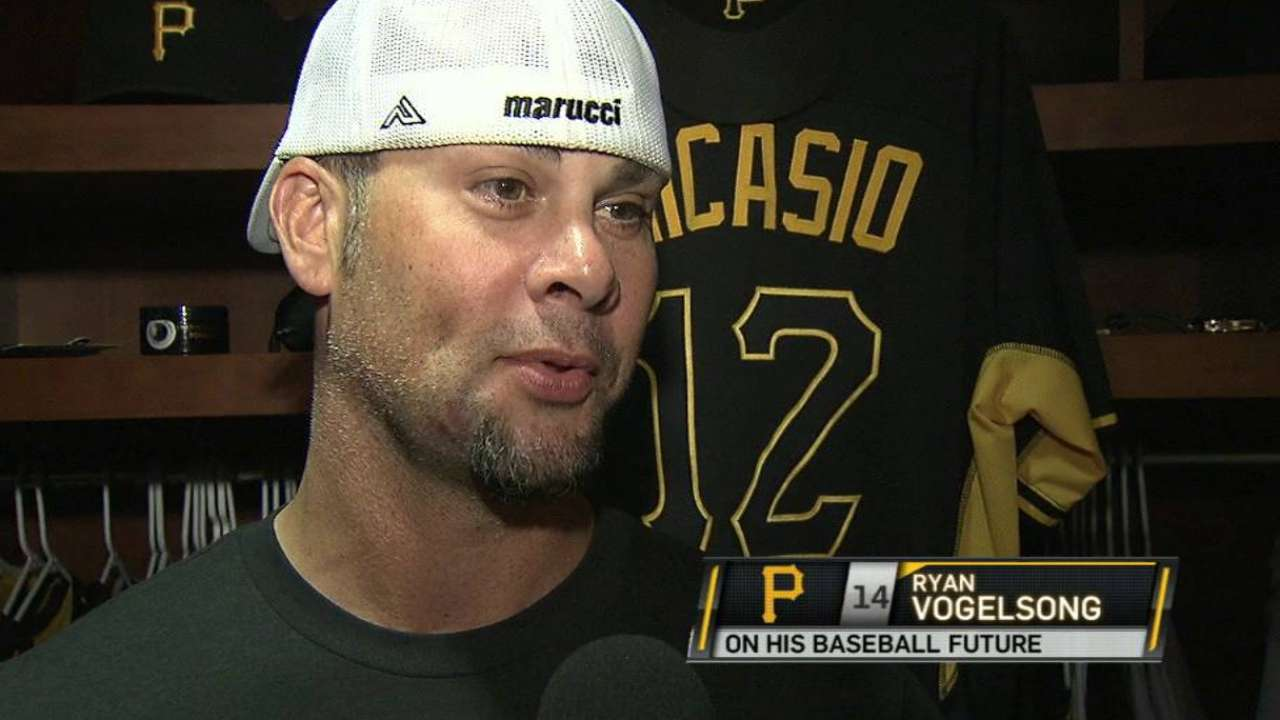 Vogelsong discusses his future